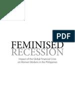 Feminised Recession