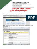 Cau Hinh Xem Camera Qua Internet Voi Draytek27000