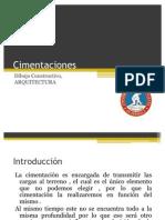 Presentacion Dibujo Constructivo CIMENTACIONES