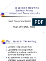 Cellular Spectrum Allocation and Pricing Final Draft Nepal