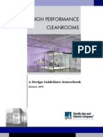 High Performance Cleanroom Air Design