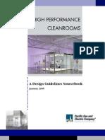 High Performance Cleanroom Air Design