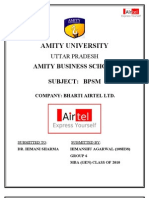 Bharti Airtel Alliances