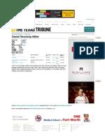 Daniel Shockley Miller | Texas Prison Inmates | the Texas Tribune