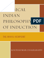 Classical Indian Philosophy of Induction