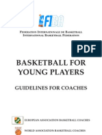 bascketball for young players