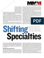 Shifting Specialties