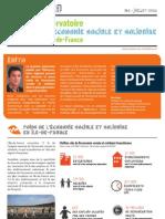 Premier panorama régional de l'économie sociale et solidaire