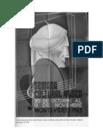 Semana Cultural Vasca - Montevideo –1943 - Vicente Amezaga Aresti