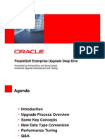 Peoplesoft upgrade Deep Dive