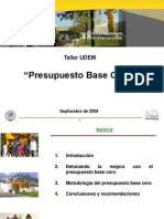 Taller Base Cero UDEM SEP 09
