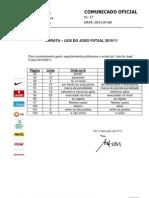 CO017 ERRATA Leis Jogo Futsal