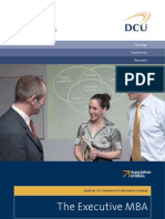 Dcu Executive Mba Brochure