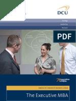 Dcu Executive Mba Brochure