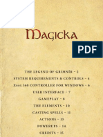Magicka Manual English