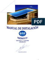 Piscinas Dtp Manual de Instalacion