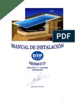 Piscinas Dtp Manual de Instalacion