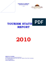 Cambodia Tourism Statistics 2010