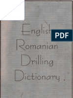 English-Romanian Drilling Dictionary - Part 1