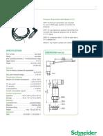 Pressure Transmitter 0-10v Scheider