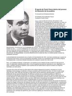 El aporte de Franz Fanon dentro del proceso de liberación de los pueblos