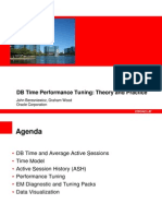 DB Time Performance Tuning - Theory and Practice