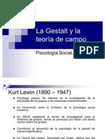La Gestalt y la teoría de campo p.paula