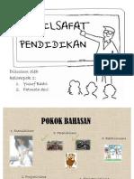 Lima Filsafat Pendidikan