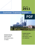 49147228 NTPC Faridabad Training Report
