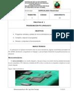PRACTICA Nro. 1 Automatización PIC