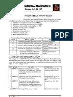 Daftar Makalah SNA 10 Makassar
