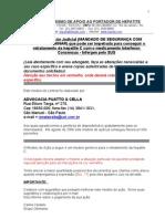 Petição de fornecimento de medicamentos