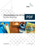 Photo Initiators for UV Curing