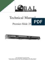 Premier Slide Manual