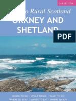 Guide to Rural Scotland - Orkney & Shetland