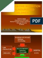 Prof Burhan Nutrisi Perioperative Nutrition in Malnourished Children