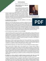 Entrevistas - Ahmed Djebbar - Fundación Canaria Orotava de Historia de la Ciencia