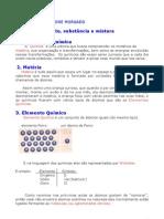 Química - Aula 01 - Elemento, substância e mistura