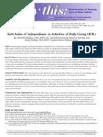 Katz Index