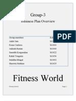 Gymansium Final Business Plan-group 3