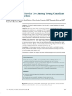 Bergeron, E - Determinants of Service Use Among Young Canadians