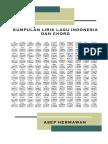 Lirik Dan Chord Lagu Indonesia 2
