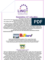 Newsletter 13th July 2011