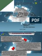 TOMA DE DECISIONES EN LOS CONFLICTOS ORGANIZACIONALES DE LAS INSTITUCIONES DE EDUCACION BASICA DE I Y II ETAPA