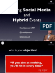 TNOC Embracing Social Media and Hybrid Event Strategy Webinar