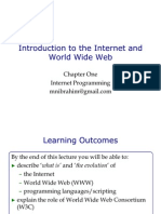 Introduction to the Internet WWW