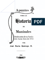 HISTORIA DE MANIZALES