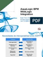 Aqualogic BPM WebLogic Integration