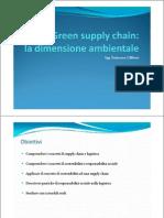 Green Supply Chain - Lezione 1