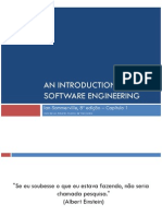 Capitulo 1 - Introducao Engenharia de Software